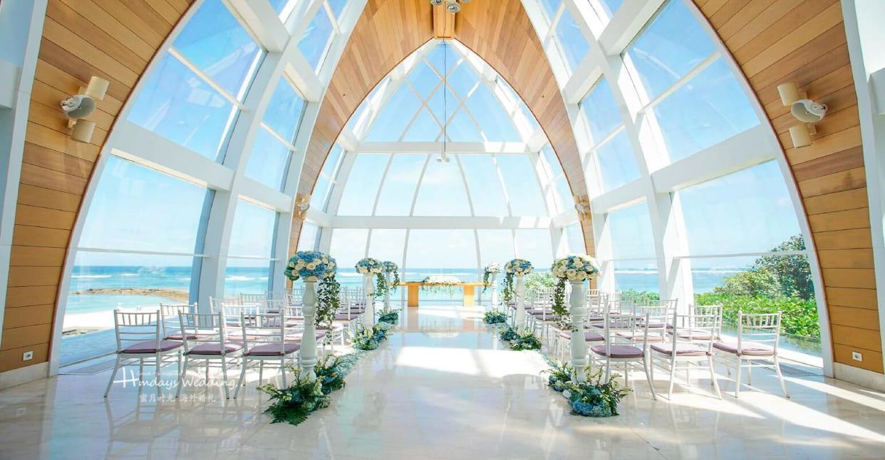 2019版标准布置 巴厘岛丽思卡尔顿教堂婚礼