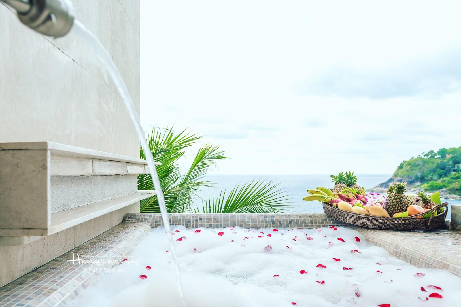 Qastle别墅景观 普吉岛天空之城婚礼