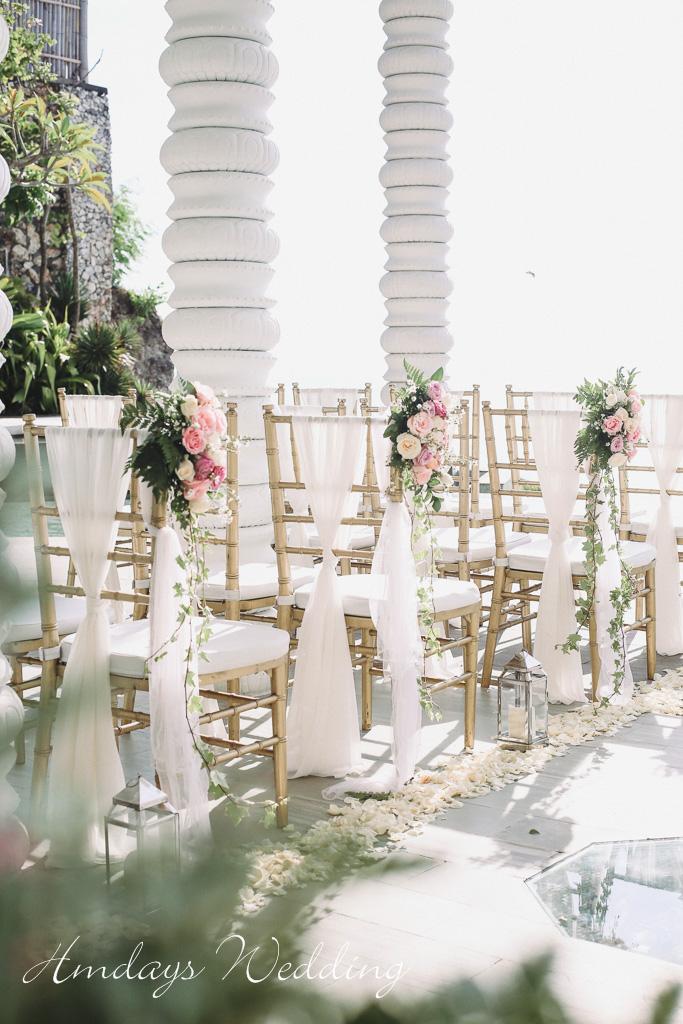 巴厘岛卡玛雅海景水台婚礼