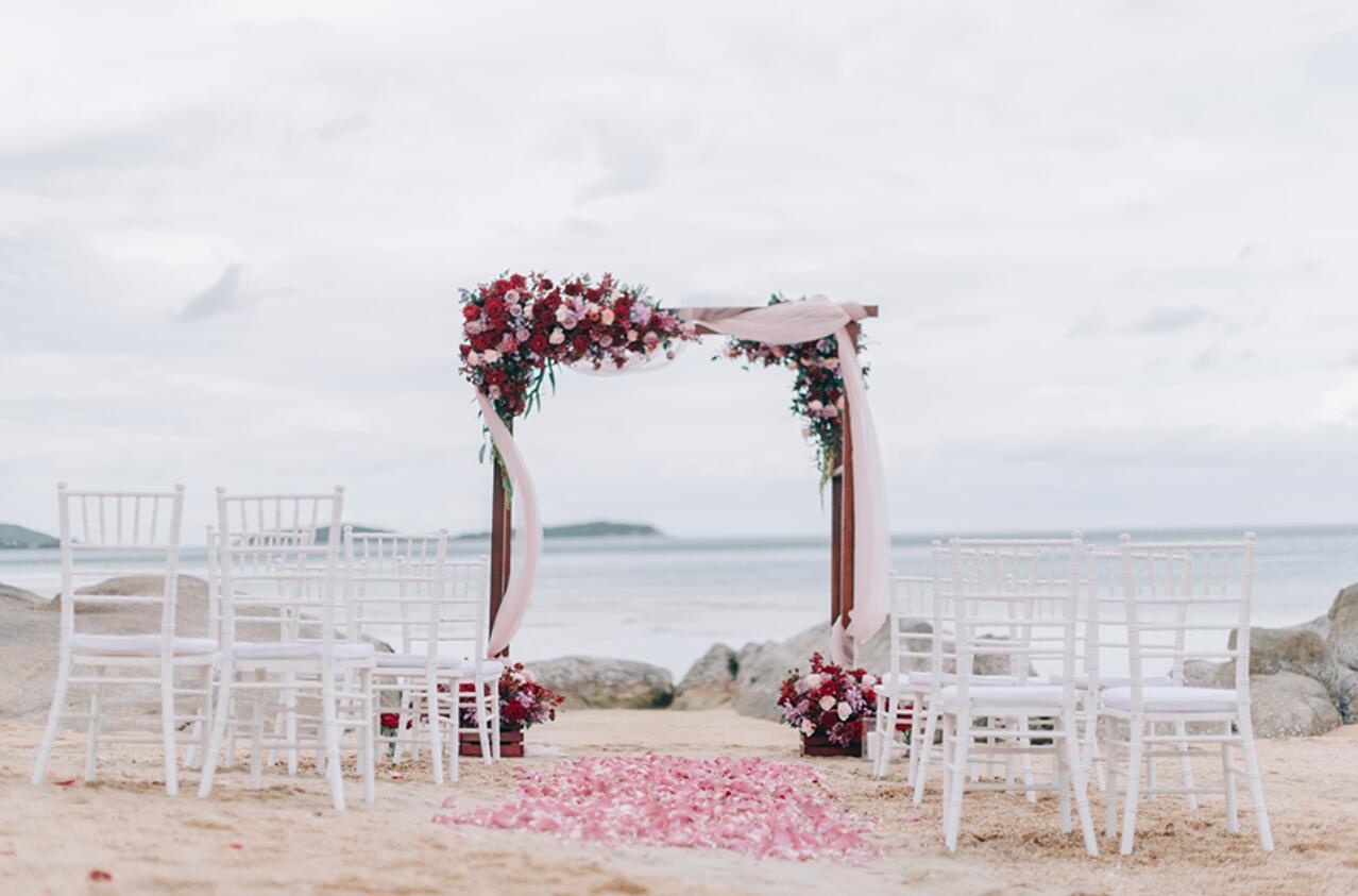 苏梅岛喜来登沙滩婚礼 泰国苏梅岛喜来登婚礼