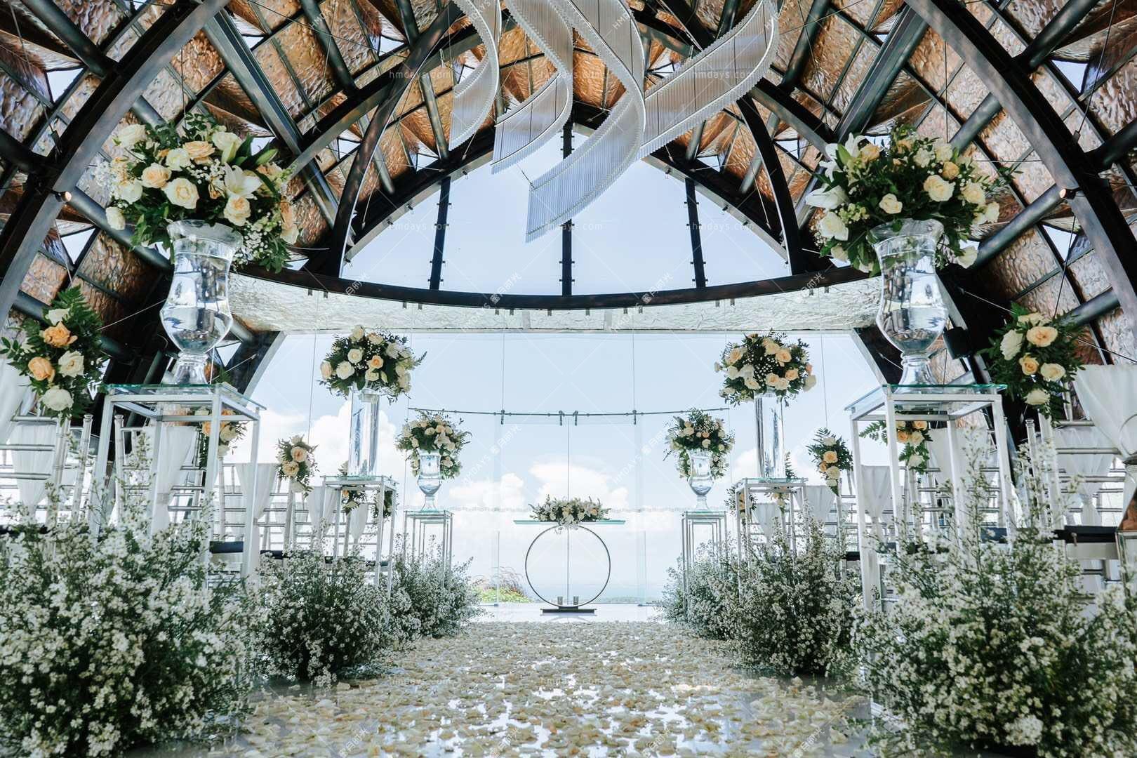 2019标准布置 巴厘岛万丽教堂婚礼