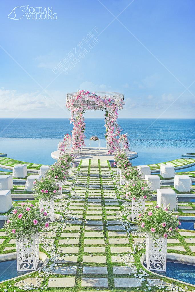 巴厘岛婚礼-梦幻岛免费布置 巴厘岛 梦幻岛 免费布置 粉色