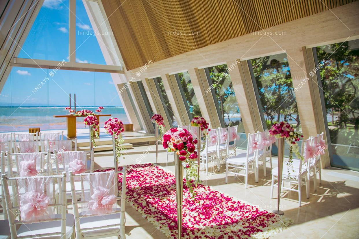 巴厘岛港丽无限教堂婚礼