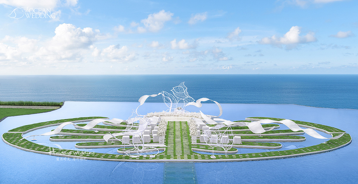 巴厘岛 梦幻岛 《雪落下的声音》 主题布置