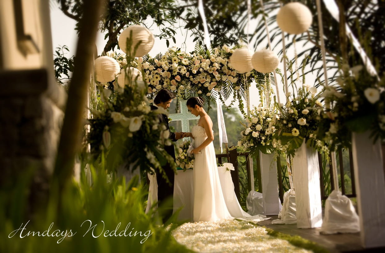 CORNER小平台婚礼 巴厘岛肉桂乌布婚礼