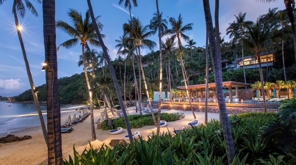 泰国苏梅岛四季酒店婚礼