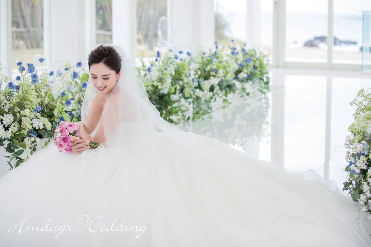 冲绳蔚蓝海洋教堂婚礼