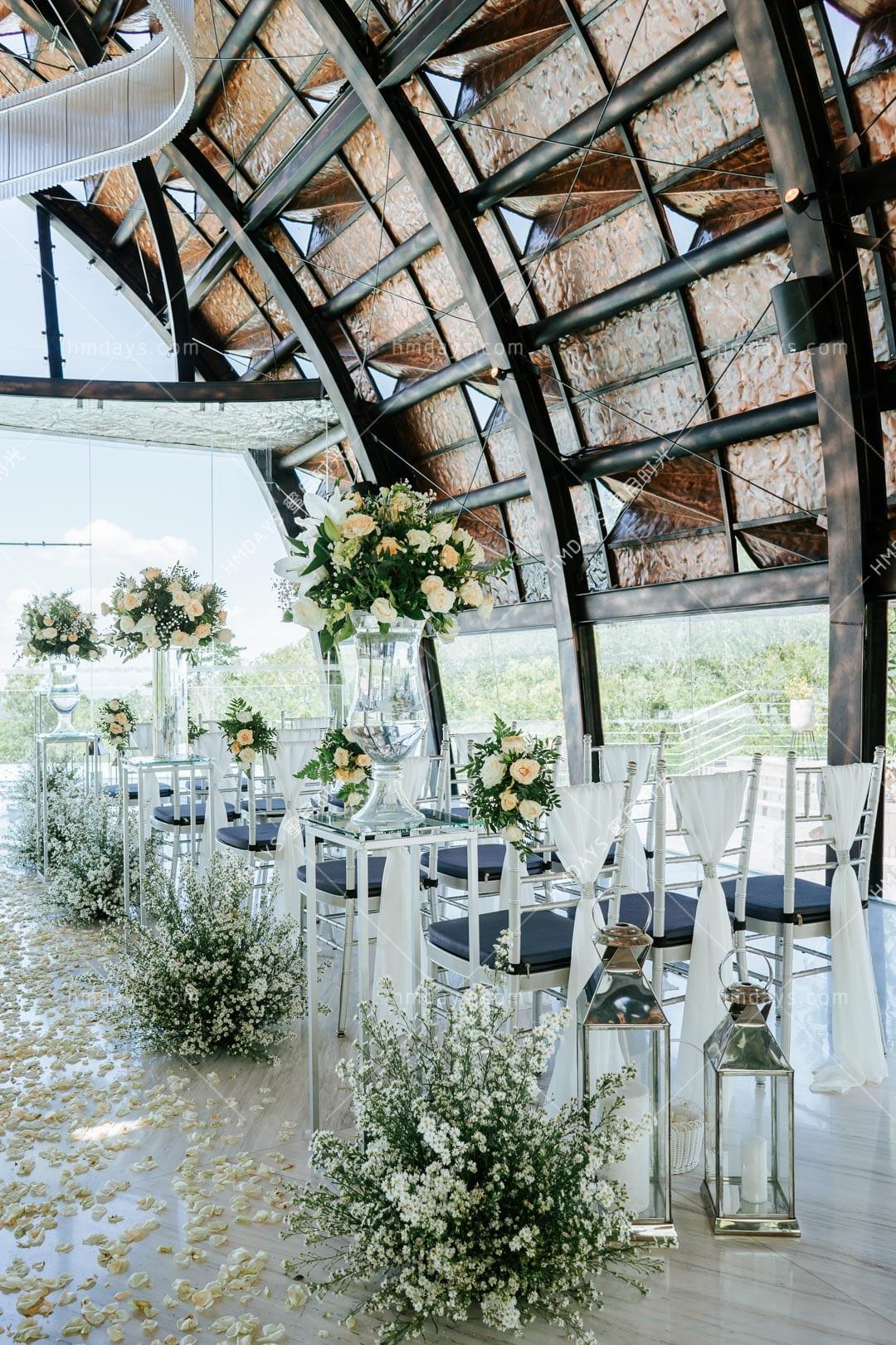 巴厘岛万丽教堂婚礼