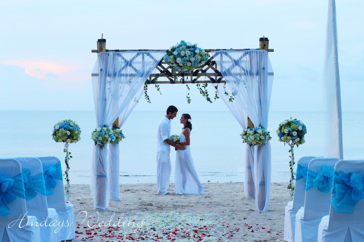 巴厘岛克拉桐金巴兰沙滩婚礼