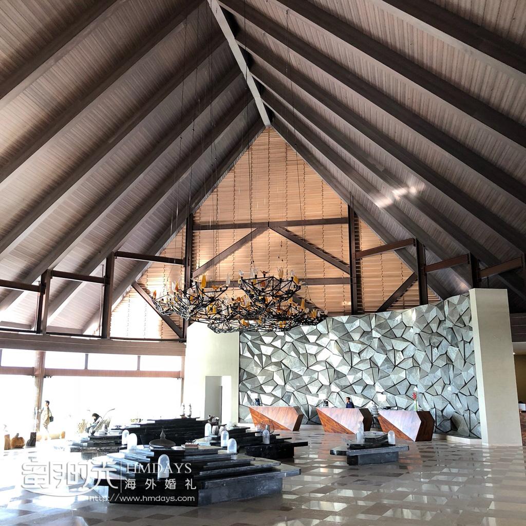 巴厘岛万丽酒店大堂 巴厘岛万丽教堂婚礼