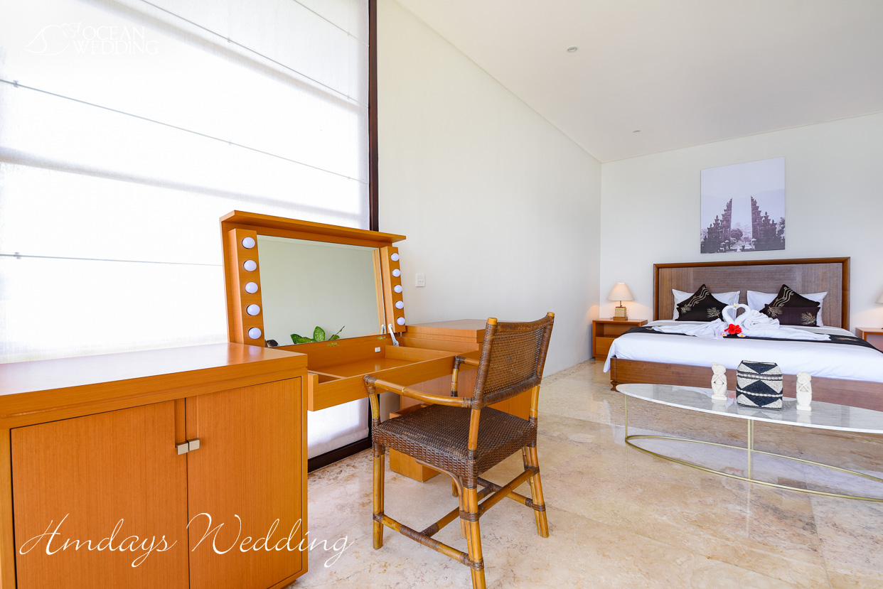 巴厘岛梦幻岛准备间 巴厘岛梦幻岛婚礼山庄准备间及休息室
