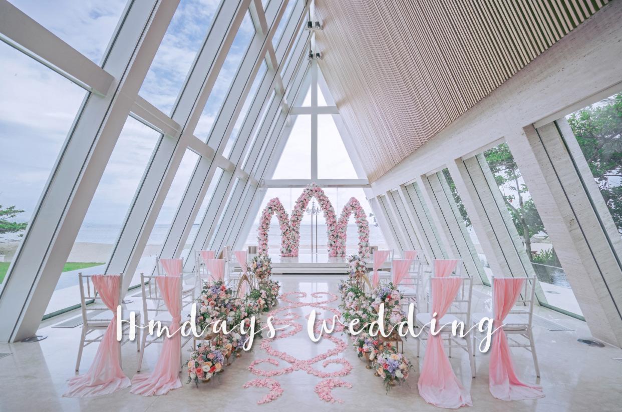 2019布置 巴厘岛港丽无限教堂婚礼