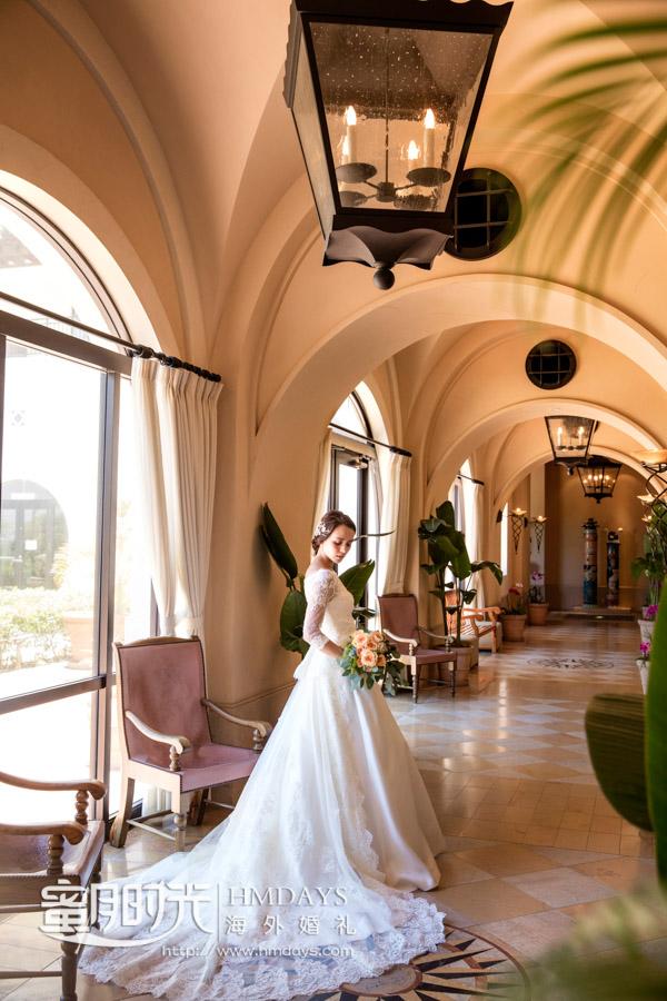 酒店内随机抓拍 冲绳星耀(海之耀)教堂婚礼
