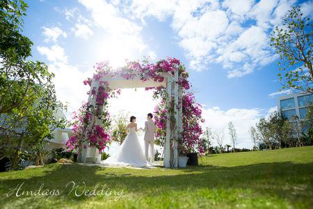 冲绳美之教堂婚礼