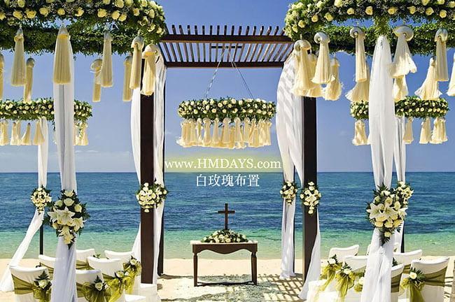 瑞吉沙滩婚礼