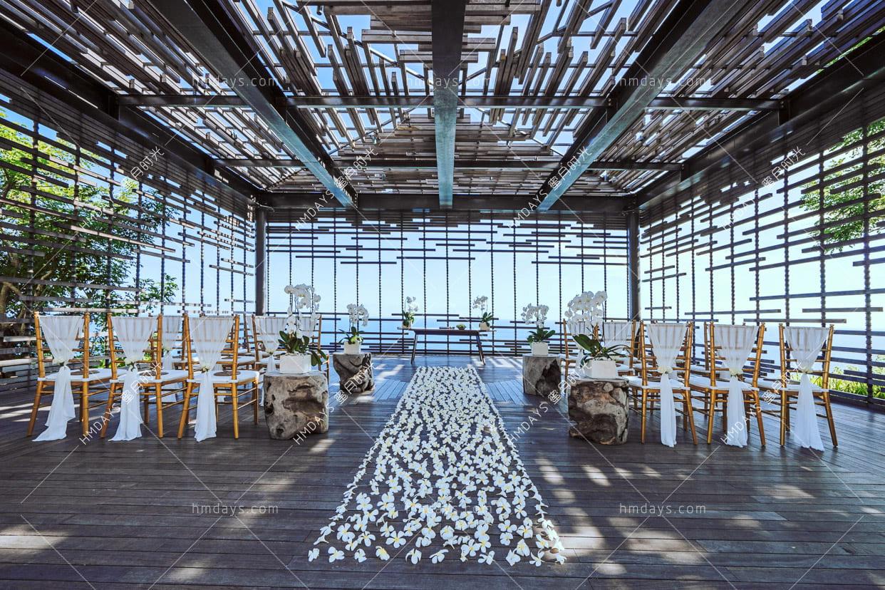 此布置升级了竹节椅 巴厘岛阿丽拉婚礼酒店 Alila Villa Uluwatu BALI indonesia