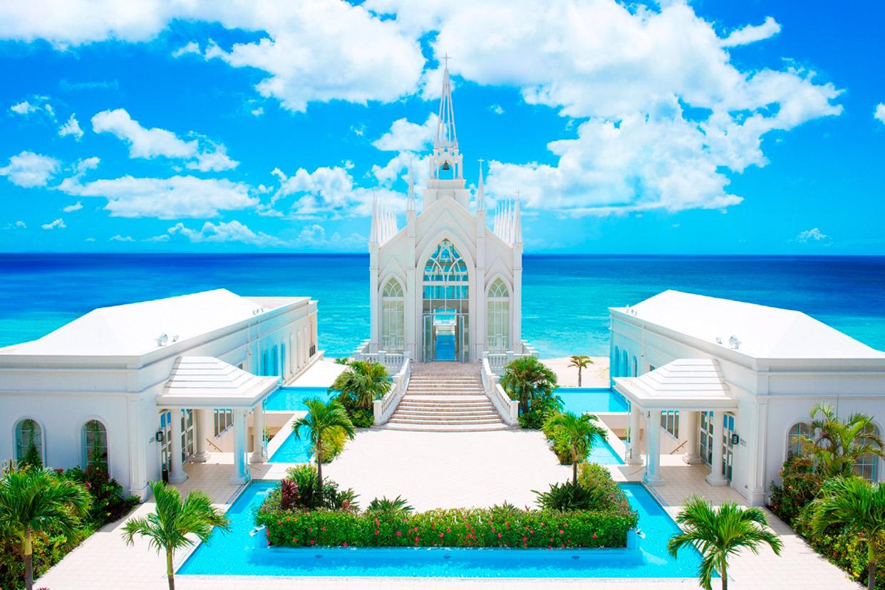 冲绳拉索尔(海之翼)教堂婚礼