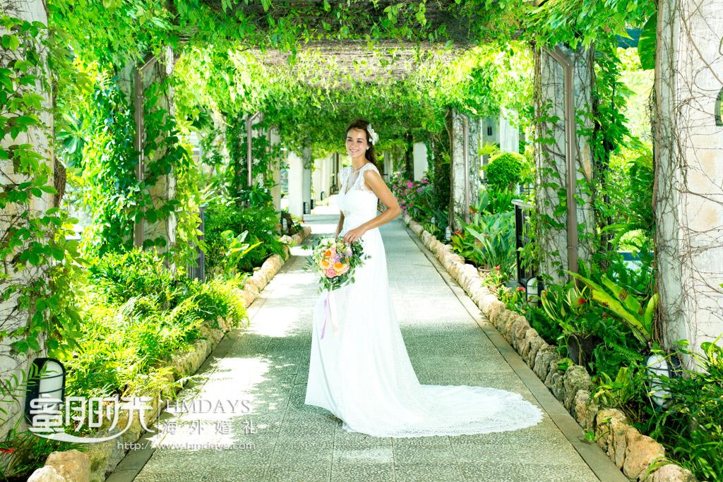 新娘特写抓拍 冲绳飞亚(海之空)教堂婚礼