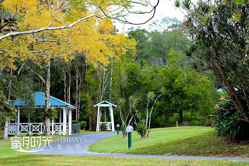 庄园的早晨 澳洲婚礼庄园内景