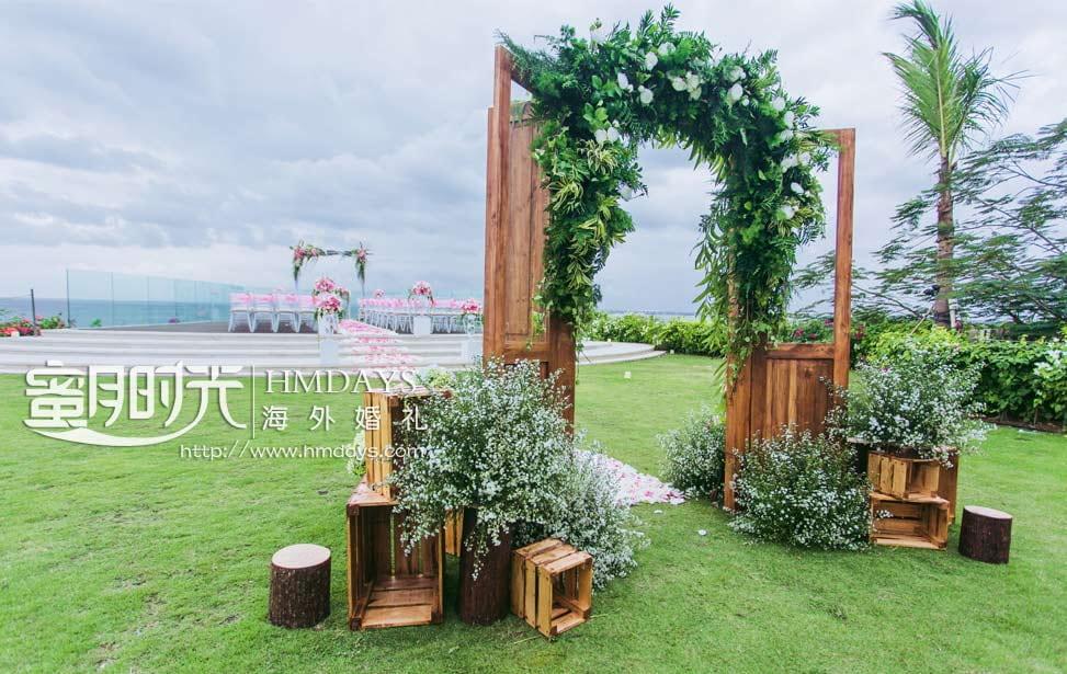 巴厘岛阿雅娜别墅婚礼