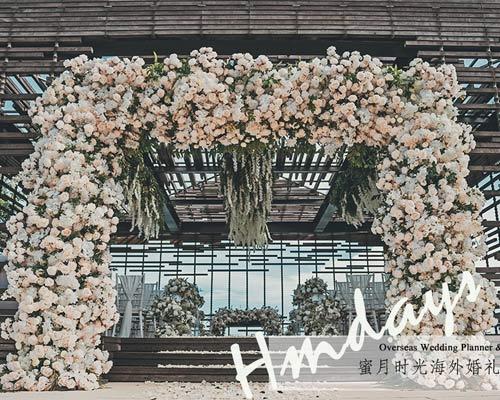 Alila villas uluwatu wedding decoraiton upgrade and customization