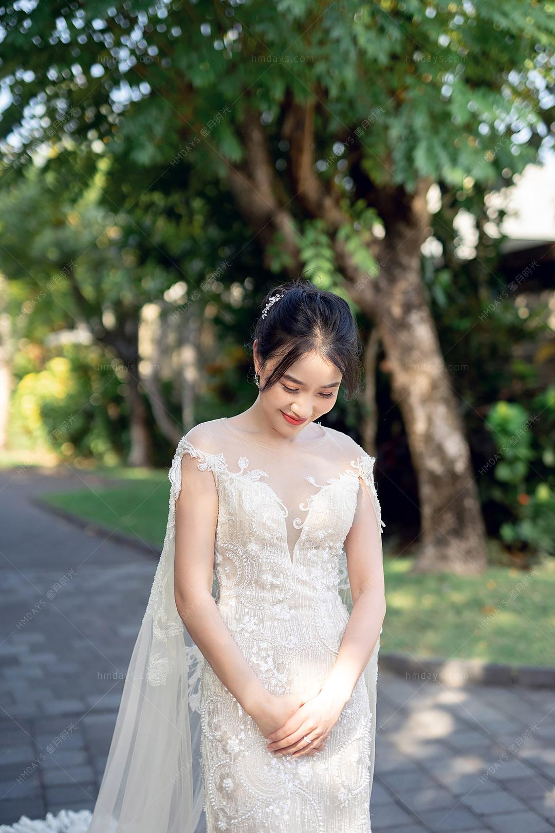 巴厘岛白鸽教堂婚礼|海外婚礼|海外婚纱摄影|照片
