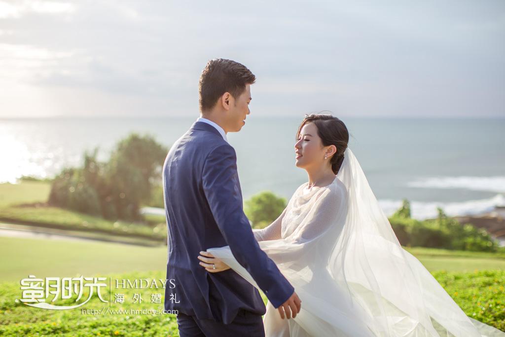 巴厘岛海神庙婚礼照片(H+M 重庆) 海外婚礼 海外婚纱摄影 照片