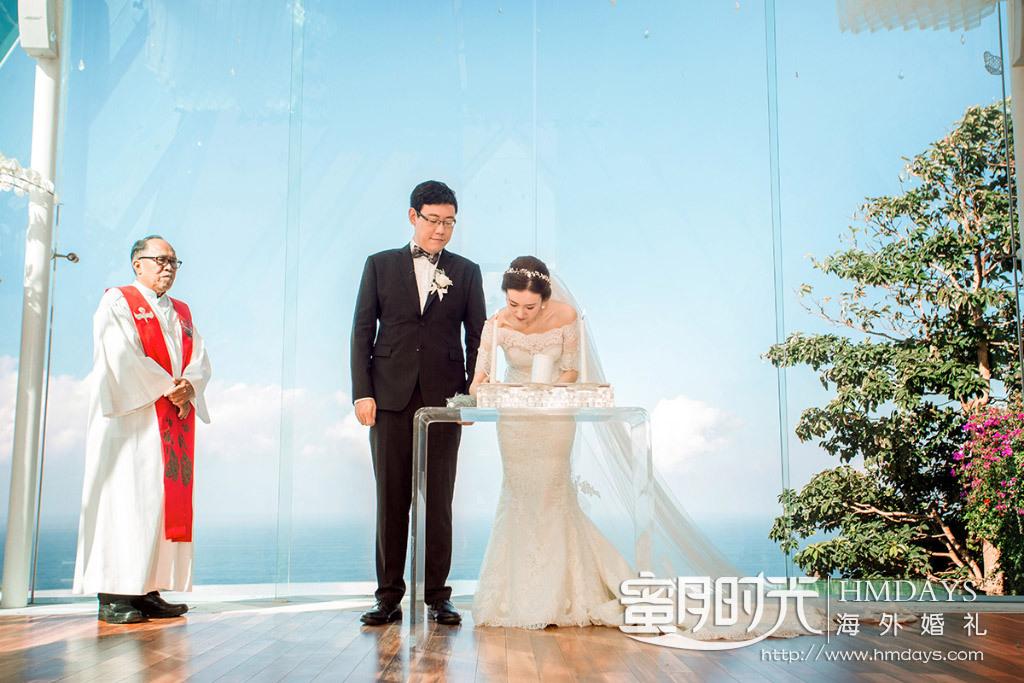 水之教堂婚礼+次日全天外景|婚礼仪式之后的签字仪式|海外婚礼
