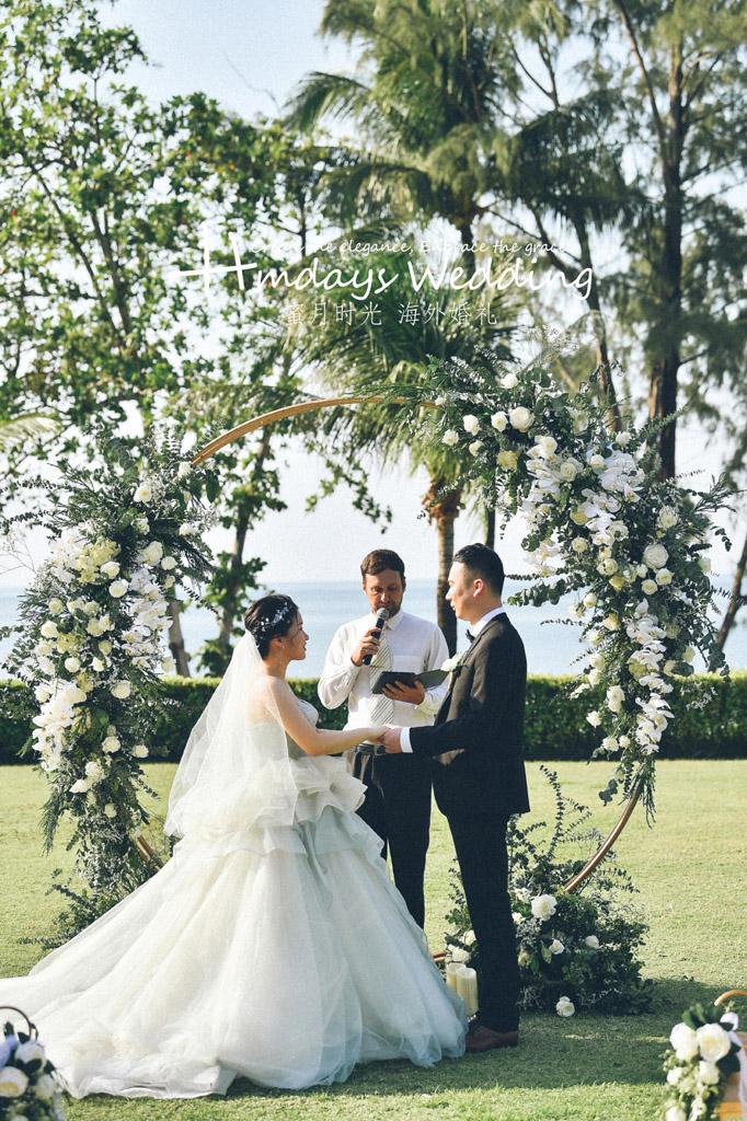 普吉岛卡马拉婚礼+定制布置+晚宴|I_swear______________|海外婚礼