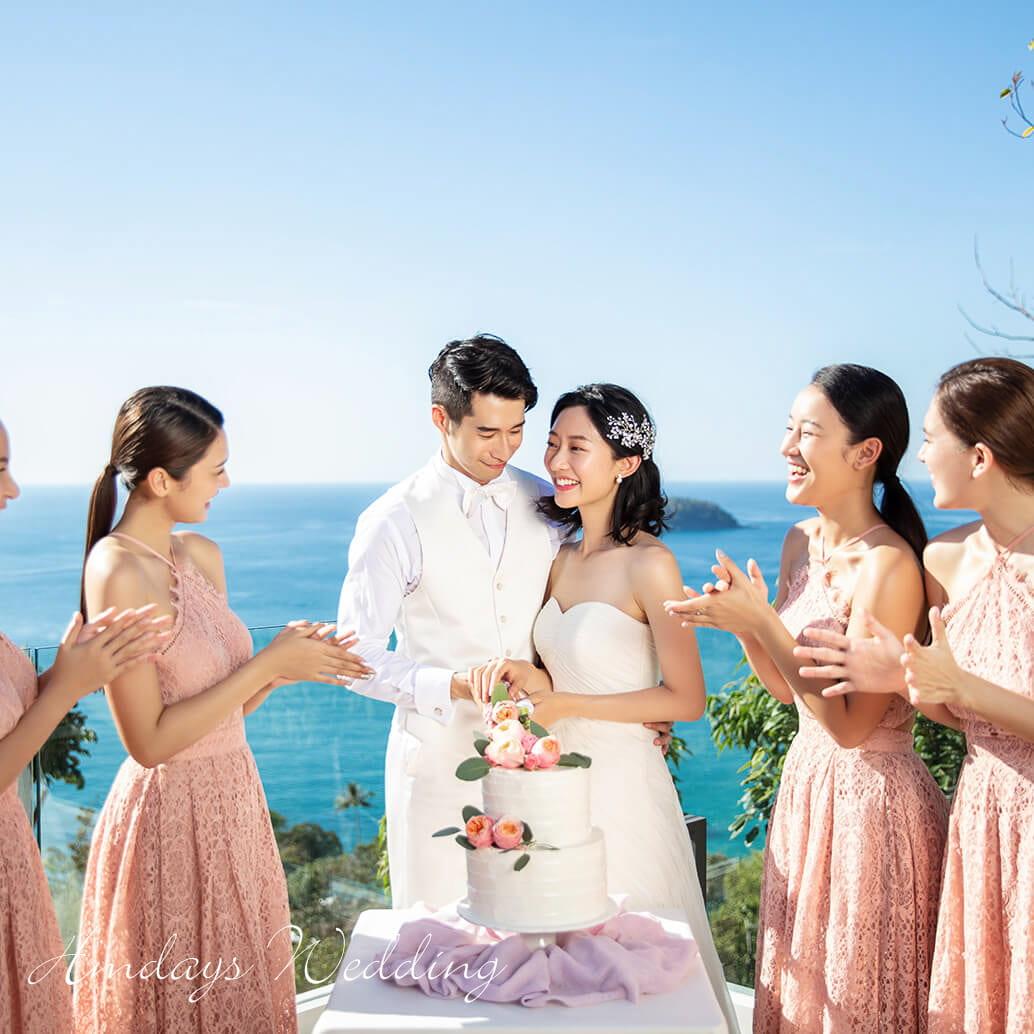海岸教堂婚礼||海外婚礼