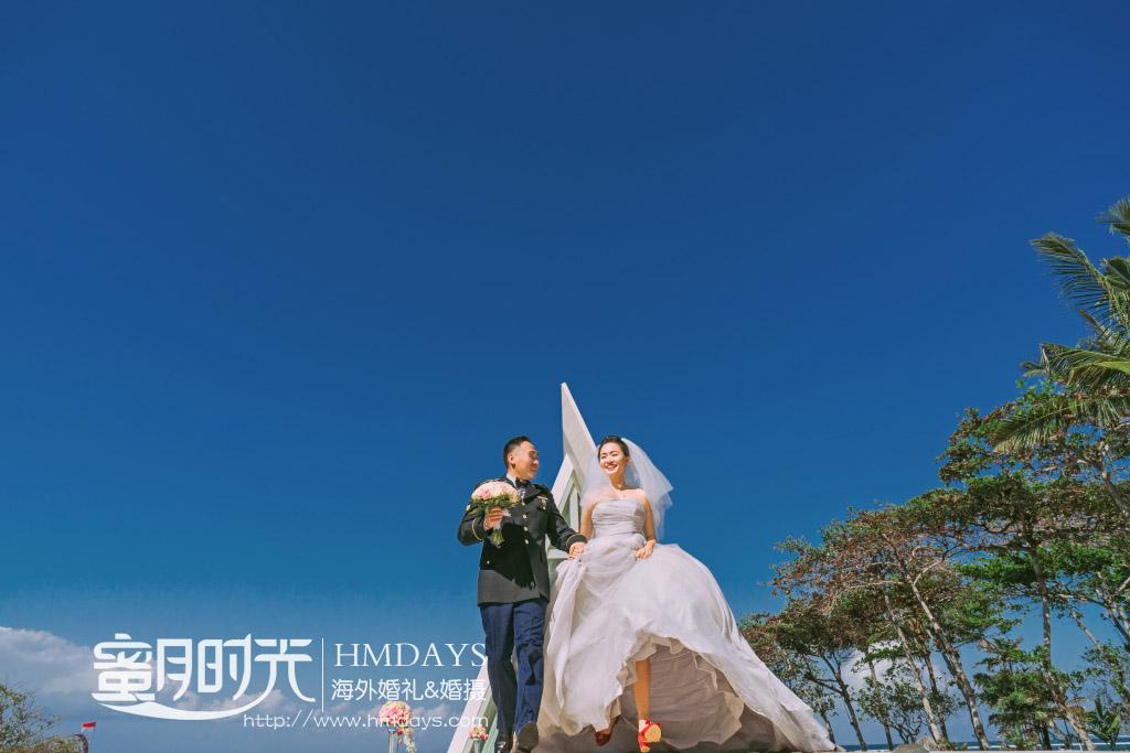 巴厘岛港丽无限教堂婚礼|海外婚礼|海外婚纱摄影|照片