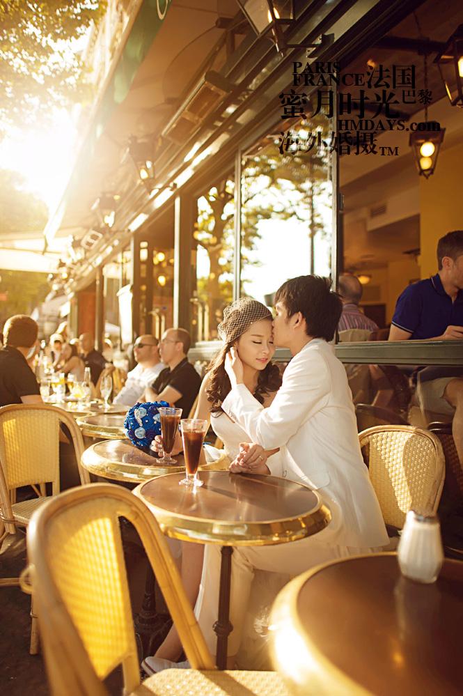 法国巴黎市区一日拍摄|巴黎婚纱摄影|海外婚礼