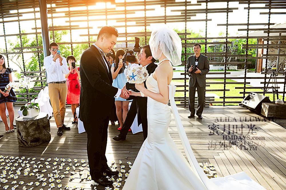阿丽拉ALILA黄昏婚礼|阿丽拉婚礼誓词互换|海外婚礼
