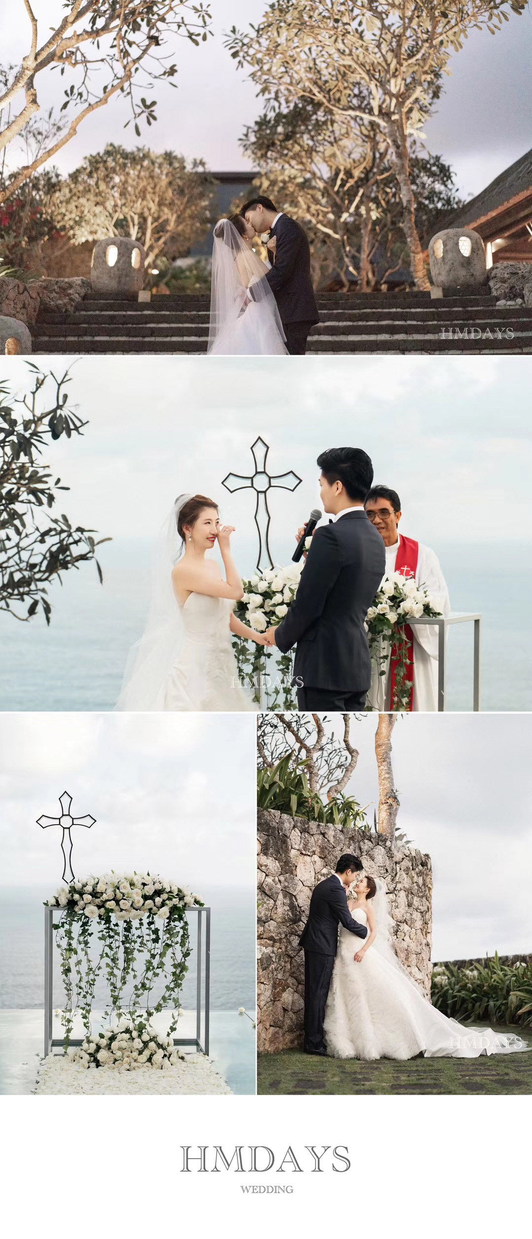 巴厘岛宝格丽婚礼 海外婚礼 海外婚纱摄影 照片