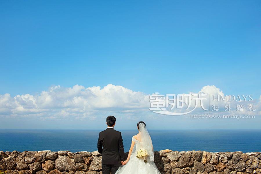 水之教堂婚礼 乌鲁瓦图之上,鸟瞰印度洋的美 海外婚礼