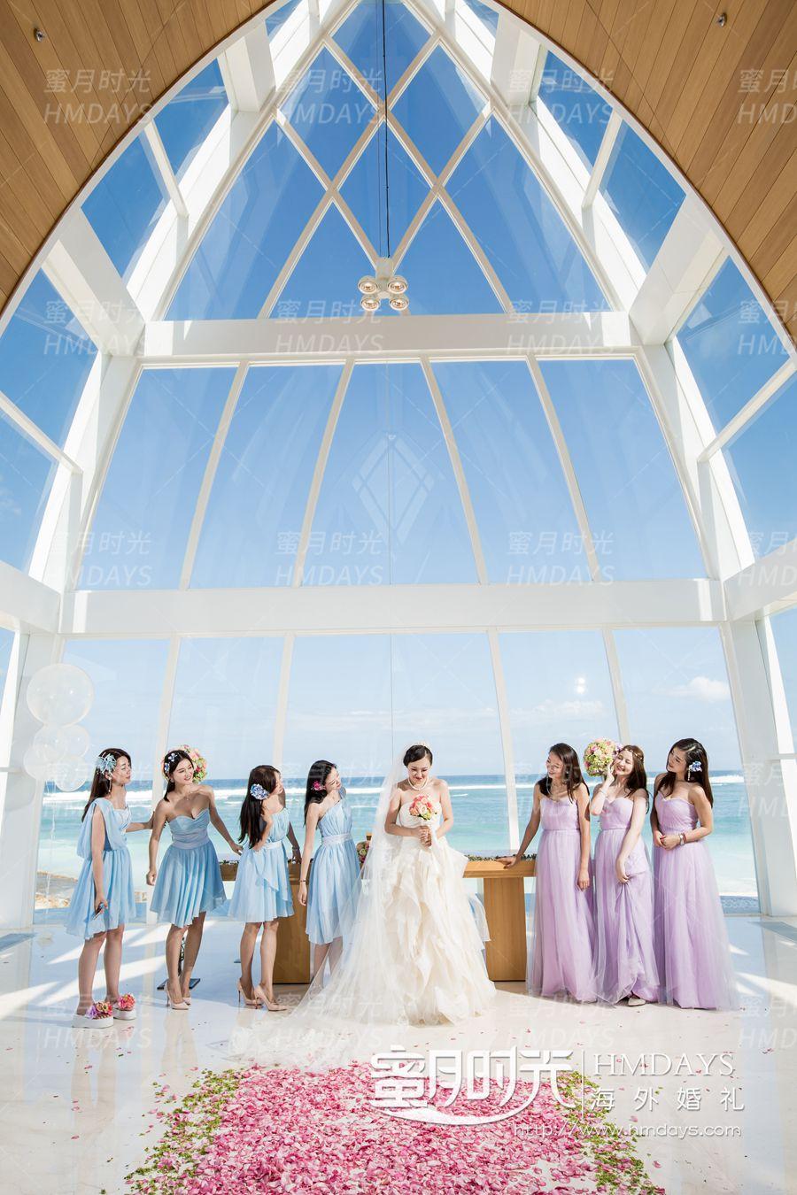 丽思卡尔顿教堂婚礼和晚宴 龙帅巴厘岛婚礼 海外婚礼
