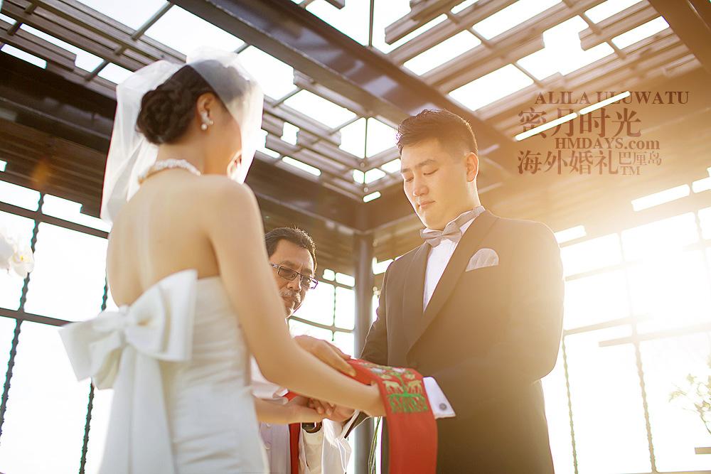 阿丽拉ALILA黄昏婚礼|戒指交换ALILA婚礼|海外婚礼