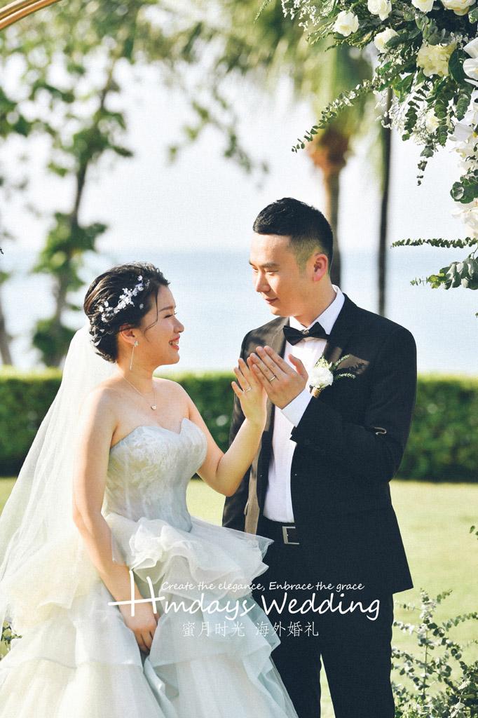 普吉岛卡马拉婚礼+定制布置+晚宴|好想时光永远停留在这一刻|海外婚礼