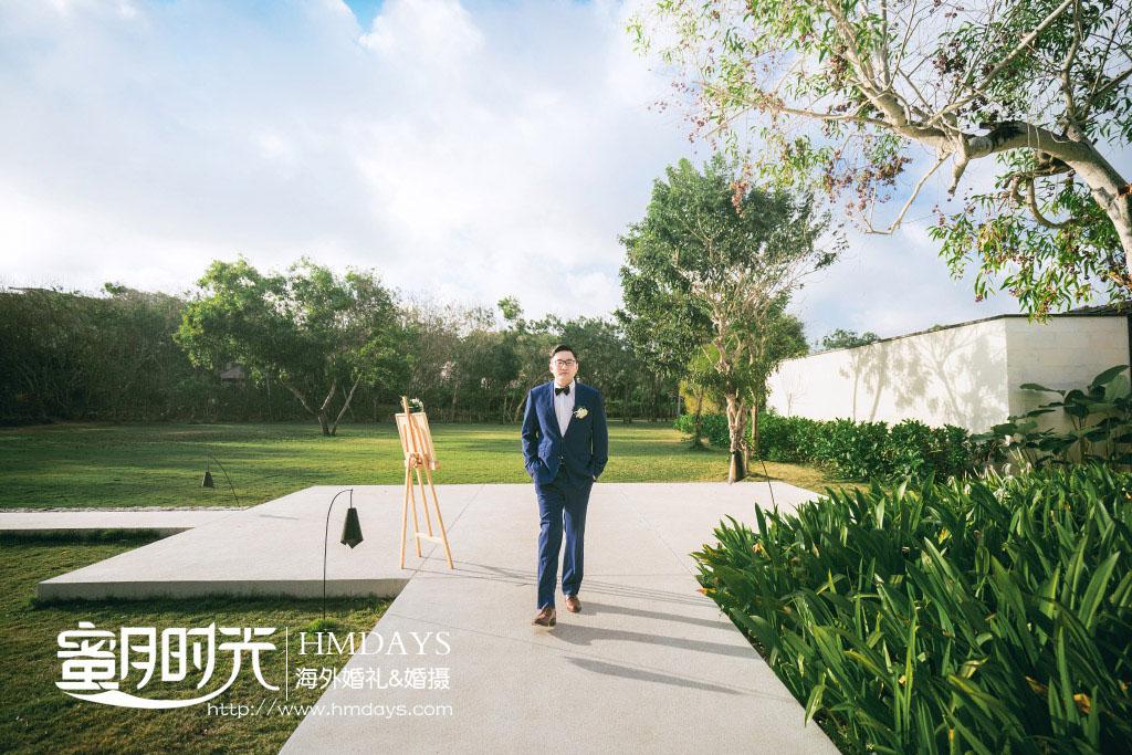 巴厘岛Alila阿丽拉婚礼|帅气的新郎入场了-巴厘岛海外婚礼_|海外婚礼