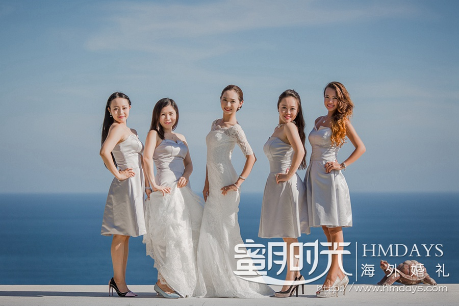 巴厘岛阿丽拉空中婚礼 海外婚礼 海外婚纱摄影 照片