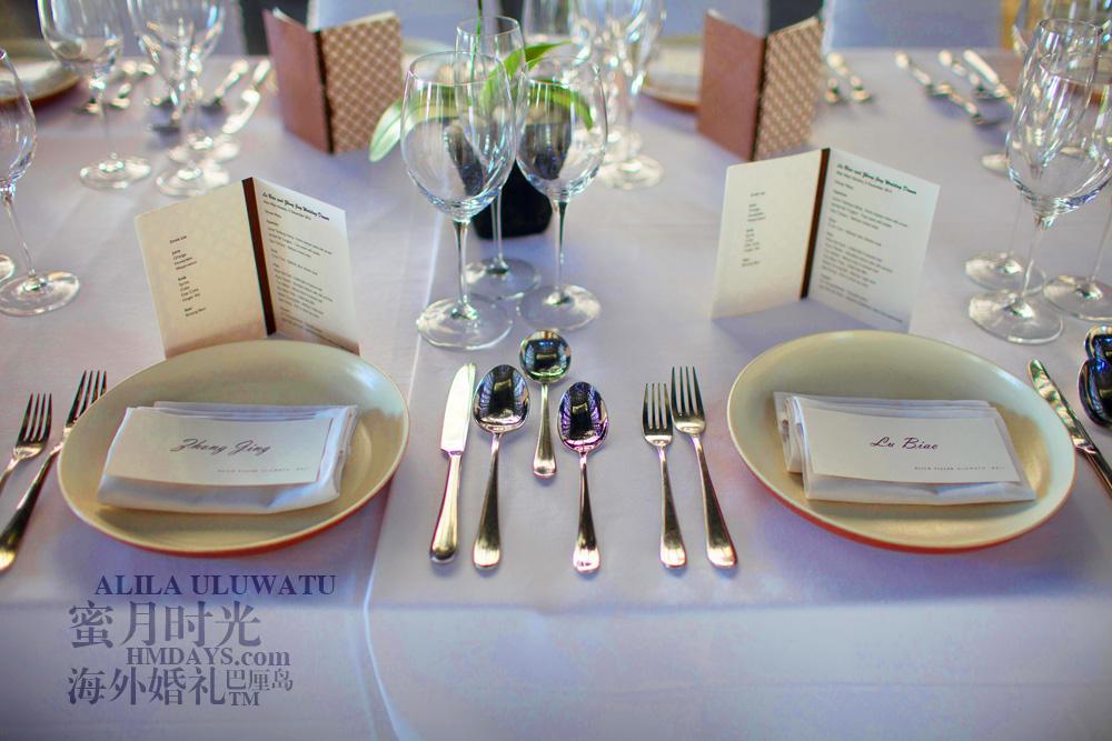 阿丽拉ALILA黄昏婚礼|阿丽拉宴会布置|海外婚礼