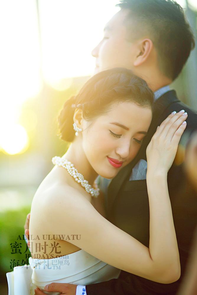 阿丽拉ALILA黄昏婚礼|阿丽拉的新人幸福瞬间|海外婚礼