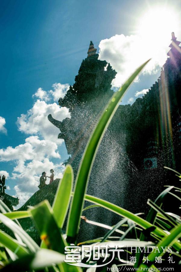 水之教堂婚礼+次日全天外景|充满阳光感的巴厘岛艺术婚礼婚纱照片|海外婚礼