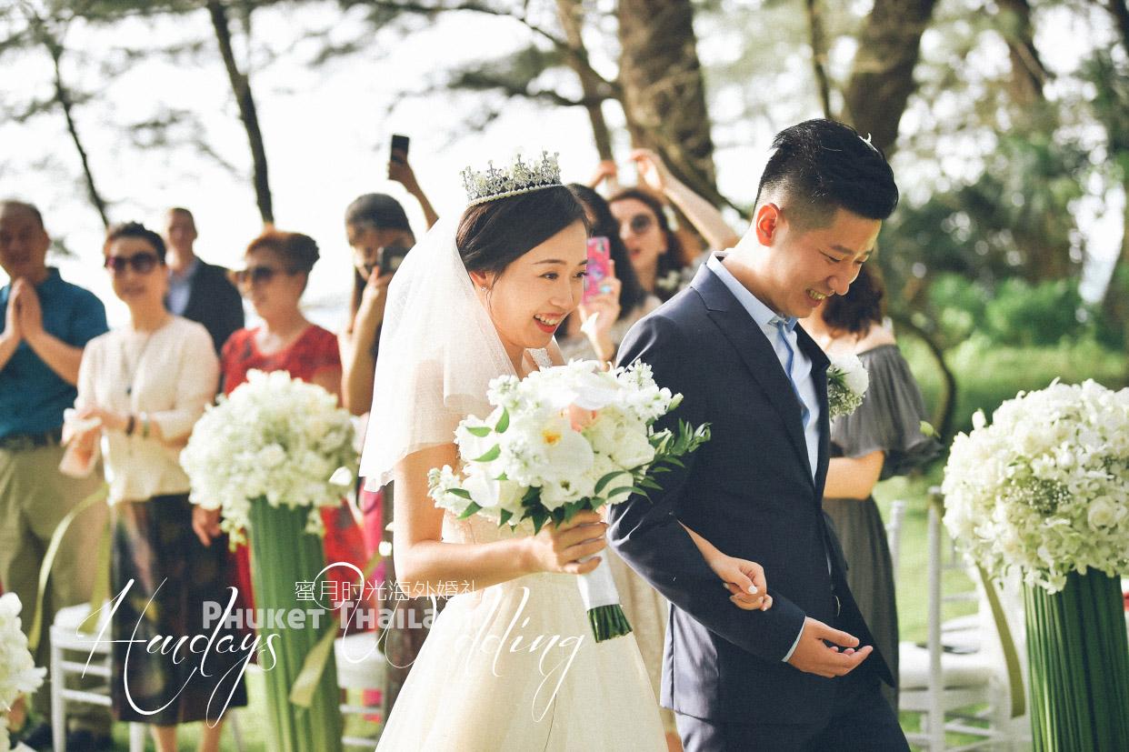 普吉岛丽宾海景婚礼(LZY+WXY)