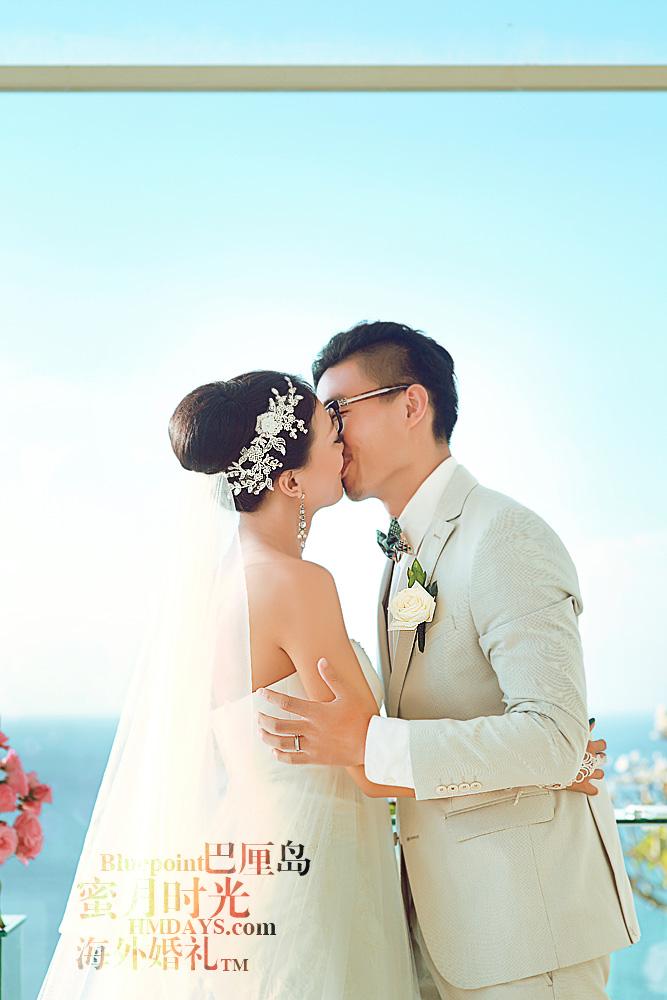 巴厘岛蓝点教堂婚礼--17:30档|KISS~~YEAH~|海外婚礼