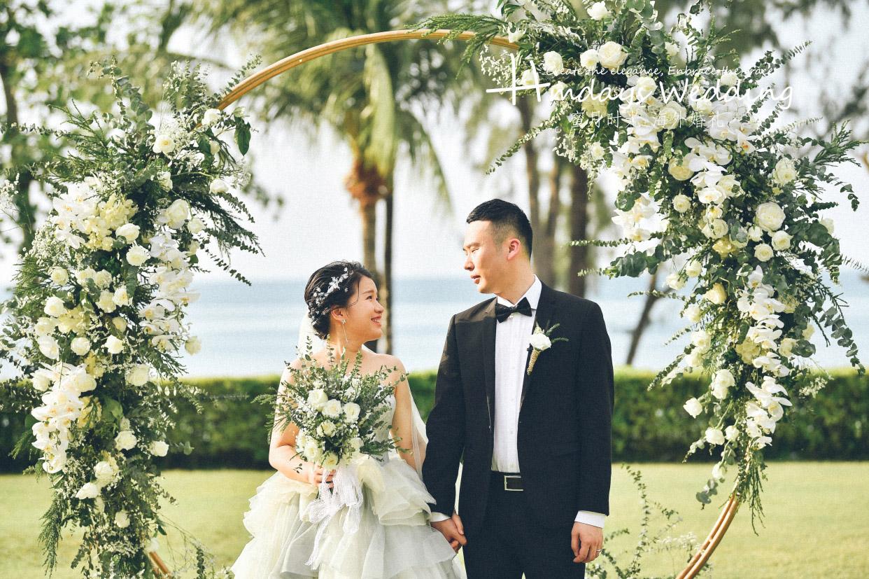 普吉岛卡马拉海景草坪婚礼