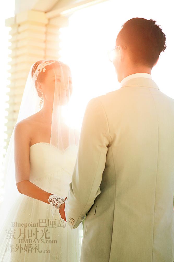 巴厘岛蓝点教堂婚礼--17:30档|互相交换誓言|海外婚礼