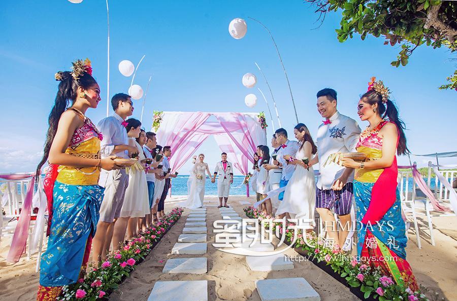 威斯汀沙滩婚礼|巴厘岛婚礼|海外婚礼|海外婚礼