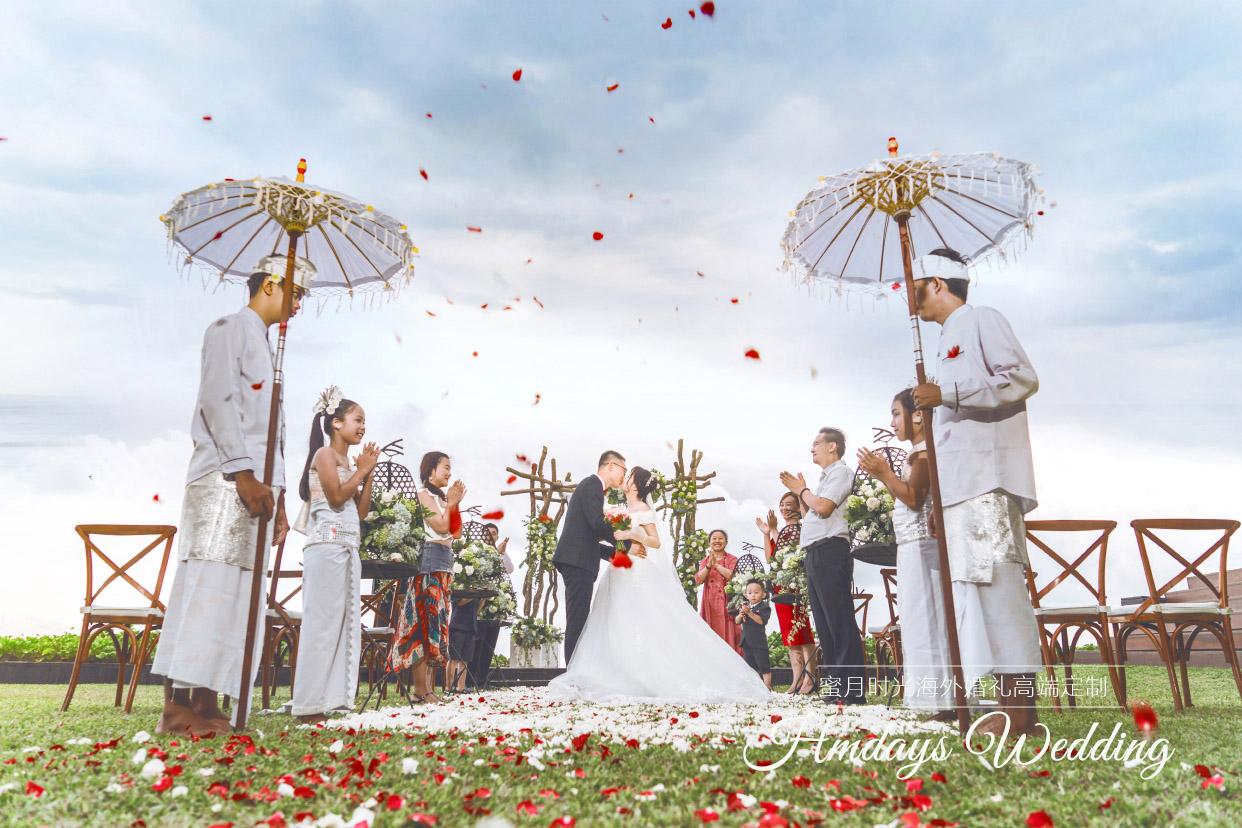 巴厘岛W酒店沙滩婚礼客片