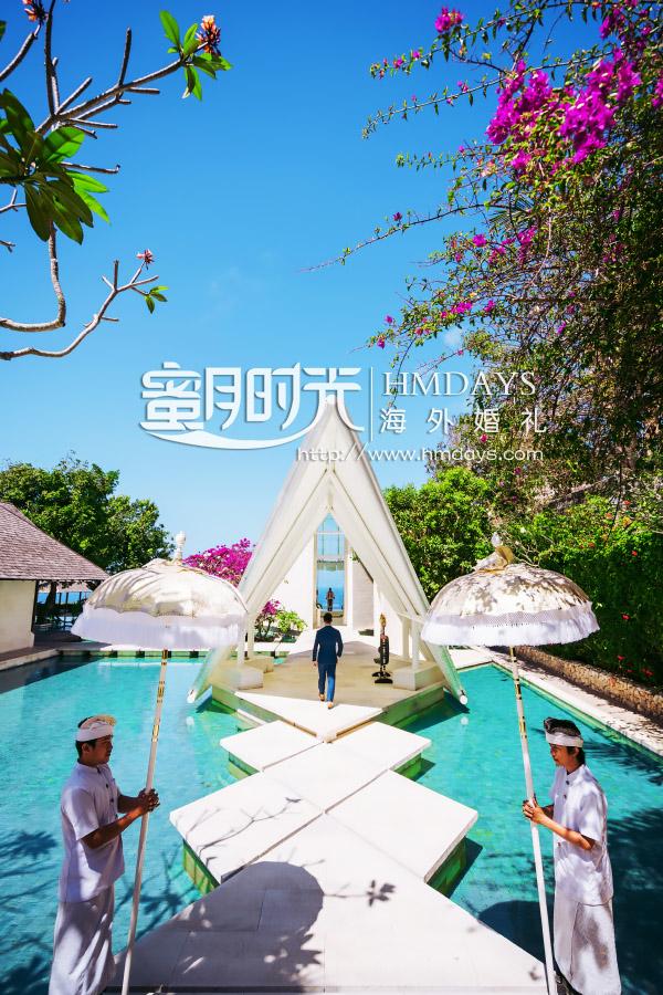 巴厘岛水之教堂婚礼+外景|巴厘岛水之教堂入场式|海外婚礼